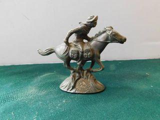 Pewter Pony Express Figurine
