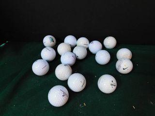 Golf Balls  16 ea