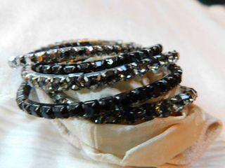 Set of Five Beaded Bracelets