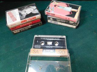 Easy listening Cassette Tapes  7 ea