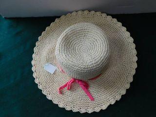 Stylish Straw Hat   Cream Color