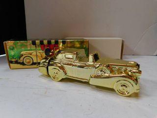 Avon   Gold Cadillac Excalibur