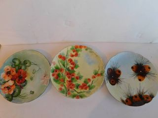 Haviland Plates  3 ea
