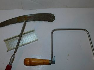 Misc  Tool lot   Saws
