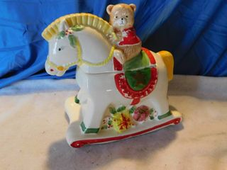 Cookie Jar   Vintage Teddy Bear