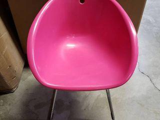 TCBY Bucket Chair w  Metal legs