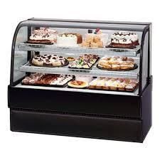 Federal 50in Full Service Bakery Case w  Curved Glass   4 levels  120v MSRP   7 152 61