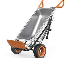 WORX Aerocart 8 i 1 Wheelbarrow Yard Cart Dolly