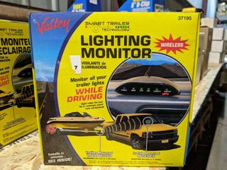 Valley wireless Trailer lighting Monitor Kit  37195  New and Unopened