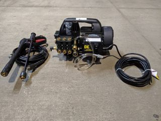 BE Pressure P1515EPN 1500 psi 1 6 GPM 1 5Hp Electric Pressure Washer Semi Pro Hand Carry Electric Cold Water Freight  NEW AND UNUSED