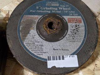 7  9  GRINDING WHEElS FOR METAl