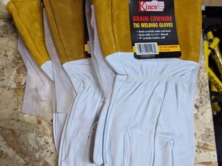 3 PAIRS OF KINCO 0119   GRAIN COWHIDE TIG WElDER Xl GlOVES