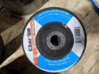 2 Packs of 4 Inch Masonry Grinding Wheels  20 Pieces