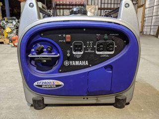 YAMAHA EF2400ISHC 2400 WATT INVERTER GENERATOR  NEW AND UNUSED