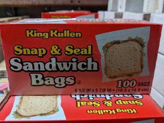 500  REClOSABlE SANDWICH BAGS