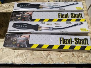 4  Flexi Shaft Screw Drivers