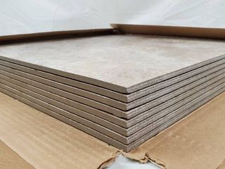 Grand Cayman Oyster 18 in  x 18 in  Porcelain Floor and Wall Tile  18 sq  ft    case