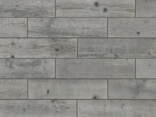 Florida Tile Home Collection   Timber Grey 6 in  x 24 in  Porcelain Floor and Wall Tile  14 sq  ft    case