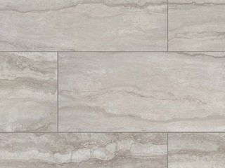 Marazzi   Vettuno Greige 12 in  x 24 in  Glazed Porcelain Floor and Wall Tile  15 6 sq  ft    case