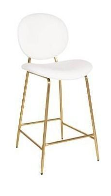 Carson Carrington Pafvalds 26 inch Gold Frame Counter Stool