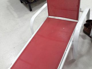 Allen and Roth lounge Chair Red