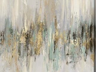 Tom Reeves  Dripping Gold II  Canvas Art Retail 88 49