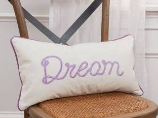 Rizzy Home 11 x21  light purple  dream  polyester filled pillow