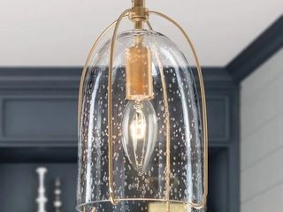 Modern Seeded Glass Gold Island Pendant Hanging Ceiling lighting for Dining Room Retail 86 49