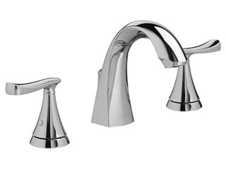 American Standard Chatfield 8 in  Widespread 2 Handle Bathroom Faucet in Polished Chrome