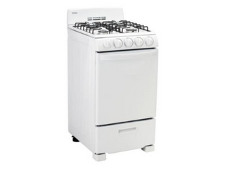 Danby 20 in  Gas Range in White