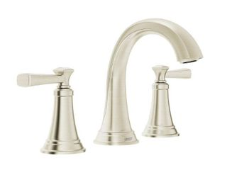 American Standard Rumson 8 in  Widespread 2 Handle Bathroom Faucet in Brushed Nickel
