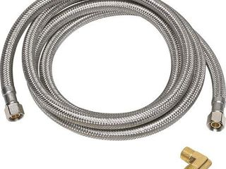 Homewerks   6 Dishwasher Supply Hose   Stainless steel