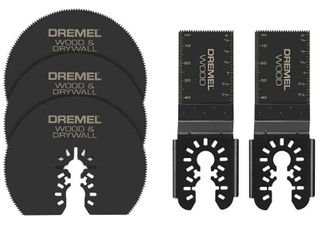 Dremel Multi Max Oscillating Tool Cutting and Variety Accessory Kit for Wood Metal and Drywall  5 Pieces