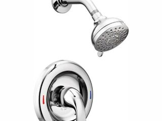 Moen 82604 Chrome AdlerA Posi TempAr Fixed Shower Set