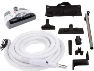 GV 35 ft  Central Vacuum Kit with White Power Head for Electrolux Aerus Beam
