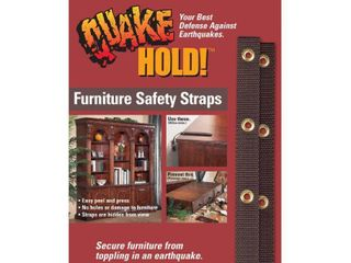 QuakeHOlD  Antique Brown Furniture Safety Strap