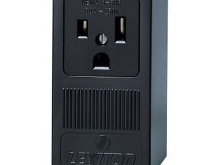 leviton 50 amps 250 volt Black Outlet 6 50R 1 pk