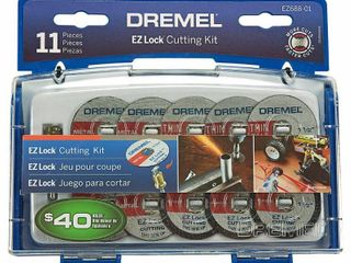 Dremel EZ688 01 EZ lock Mini Cutting Kit for Metal and Plastic