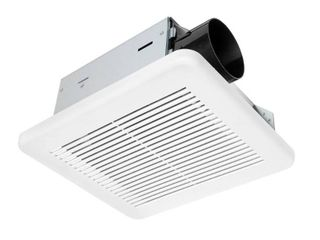Hampton Bay 50 CFM Wall Ceiling Mount Roomside Installation Bathroom Exhaust Fan  ENERGY STAR  White