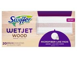 Swiffer WetJet Wood Mop Pad Refills  20 Ct