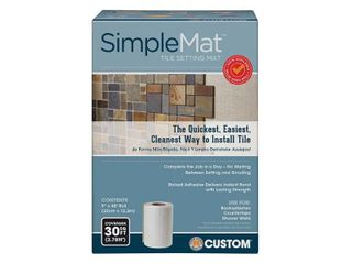 Custom Building Products SimpleMat 30 sq  ft  Roll of Tile Setting Mat