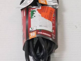 Husky 12ft indoor and outdoor extension cord  16 gauge  13 amps  125 Volt  1625 max watt