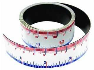Master Magnetics  07286 1x1 Magnet Meas Tape