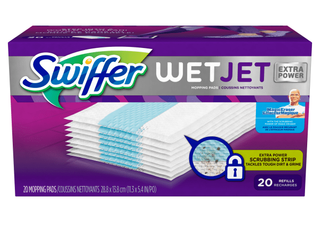 Swiffer   WetJet Hardwood Floor Spray Mop Pad Refill 19ct