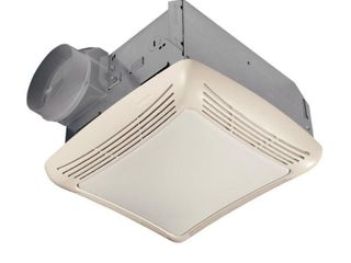 Broan NuTone 50 CFM Ceiling Bathroom Exhaust Fan with light  White