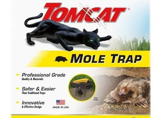 Tomcat Mole Trap  1 Hands Free Trap  Kills Moles Without Drawing Blood