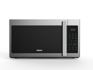 Galanz 1 7 cu  ft  Over the Range Microwave Oven in Stainless Steel