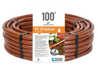 DIG B18100 100 ft 1 2 Brown Pressure Compensating Dripline