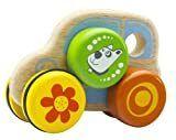 Wonderworld Puppy Car Wooden Toy