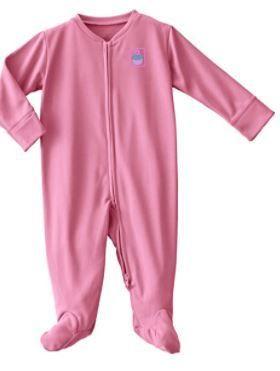 HAlO Comfortluxe Sleepwear Pink Cupcake 3 6 months